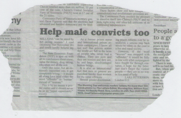 Help Male Convicts too